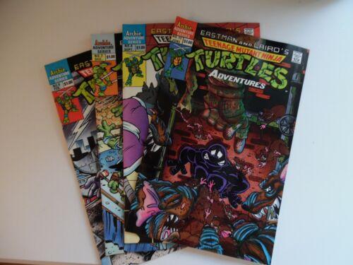 TMNT archie comic book lot of 4 different  - teenage mutant ninja turtles