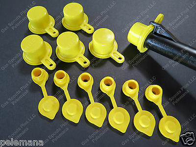 6 Blitz Spout Caps 6 Yellow Gas Can Vents Ships Free Fix Your Blitz Gas Can