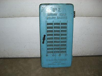 Kearney Trecker Milwaukee Milling Machine Model 2 D Colum Door 2d-a31