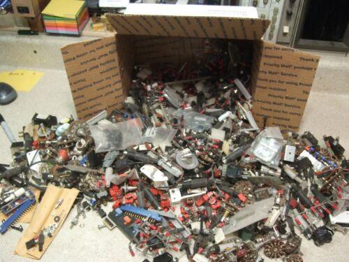 Box2 - Electronic Grab Bag! Components, Connectors, Stuff! 13lbs!