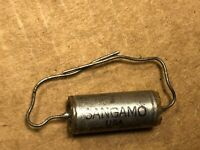 Qty NOS 1uf 100VDC Sangamo Paper In Oil CP09A1KB105K3 Capacitor Metal Can PIO 1