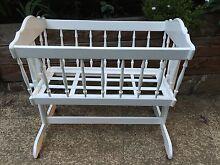 Wooden Baby Cradle Belgrave Yarra Ranges Preview