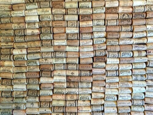 USED WINE CORKS - 350
