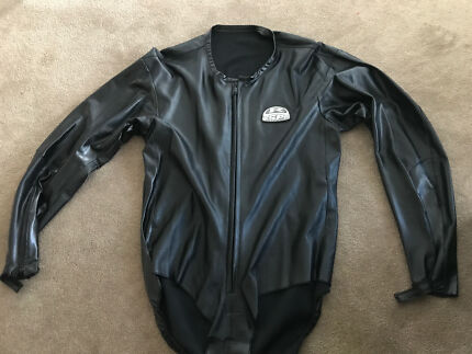 Respro motorcycle leathers overcoat