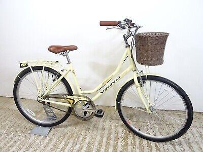 """Viking Westwood Heritage 26"""" Ladies Classic Style Retro Basket Bike 18"""" Med GC"""