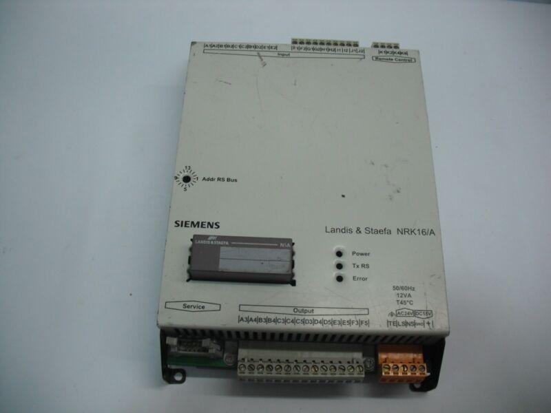 Siemens Landis & Staefa Nrk 16/a Controller