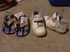 Size 6 jordans and summer sandals