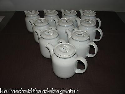 10 Thomas  Kaffeekännchen,Trend weiß,feine Rillenstruktur, Kännchen,Kaffee,Tee