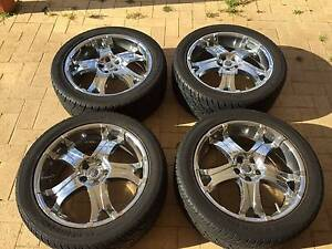 """CHROME PROWLER 20"""" RIMS FOR SALE Joondalup Joondalup Area Preview"""