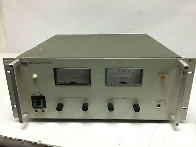Hp Agilent 6260b Dc Power Supply 0-10v 100a Load Tested 115 Input