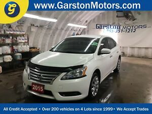 2015 Nissan Sentra S*CVT*KEYLESS ENTRY*POWER WINDOWS/LOCKS/MIRRO
