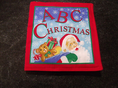 ABC Christmas Soft Cloth Book for Children, and Babies (Christmas Clothing For Children)