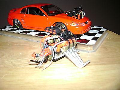 1/24 Scale Blower Motor NHRA Pro Street Hot Rod Custom Drag Racing Outlaw Drag Race Pro Street