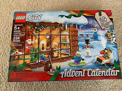 2019 LEGO City Advent Calendar 60235 Building Set 234 Pcs New Factory Sealed