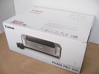 Brand New Canon PIXMA PRO 100 Wide Format Wireless Inkjet Photo Printer $499