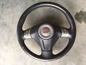 08+ subaru STI steering wheel 325$