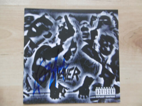 "Kerry King Autogramm signed CD Booklet ""Slayer - Undisputed Attitude"""