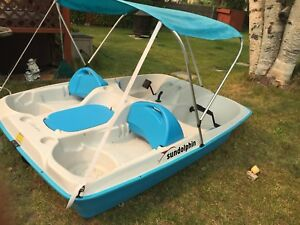 Pedal boat (2017)