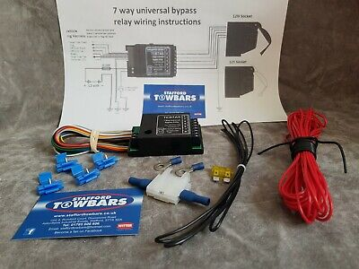 THE BEST Canbus approved Smart Bypass Relay pack towbar Electrics box wires