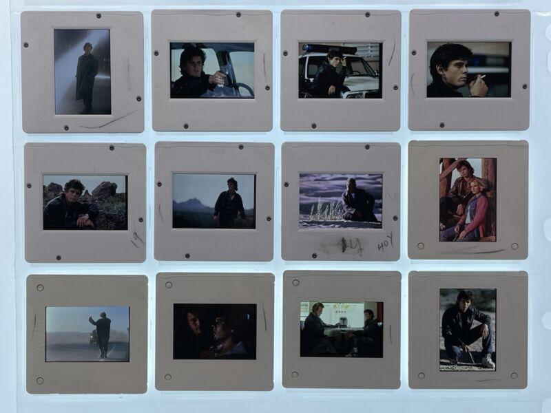 12 The Hitcher Movie 35mm Slides Rutger Hauer Press Kit Promo Vtg 80