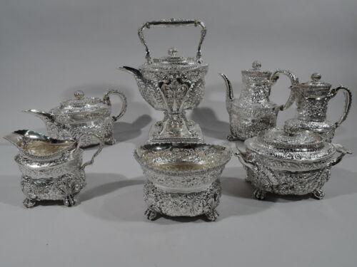 Tiffany Coffee & Tea Set - 6074 6237 6238 - American Sterling Silver  1892/1902