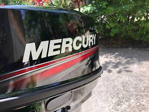 2018 Mercury 15hp 2 stroke - Almost Brand New - Includes extras