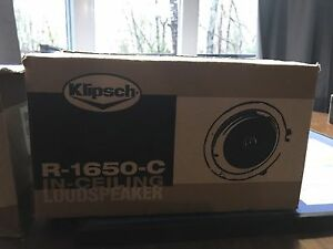 Brand Nee Klipsch Ceiling Speakers