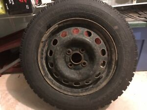 185/65r14 Goodyear Nordic winter tires