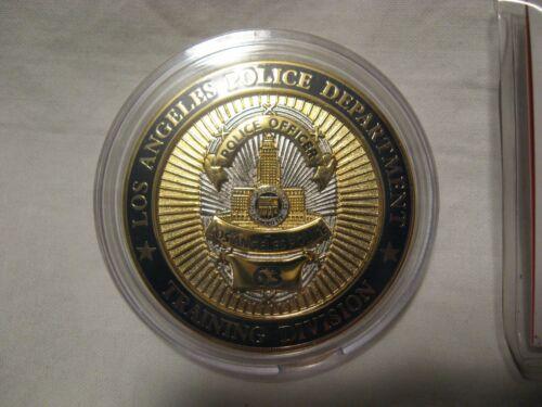 LAPD Los Angeles CA Police Training Ahmanson Elysian Park Davis Challenge Coin
