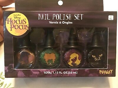 Disney Hocus Pocus Nail Polish Set- 4 Pieces Halloween Set - Sanderson Sister ](Halloween Nail Polish Set)