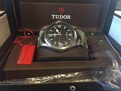 Rolex Tudor Heritage Ranger Automatic Men's Watch - 79910 on Tudor Nato LNIB