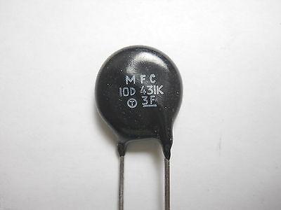 Mov Metal Oxide Varistor 430 Volt 10 Amp Mfc10d431k Qty 10 Eak1