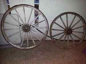 Wagon wheels Bakewell Palmerston Area Preview