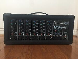 Yorkville MP6 power mixer PA 300 watts