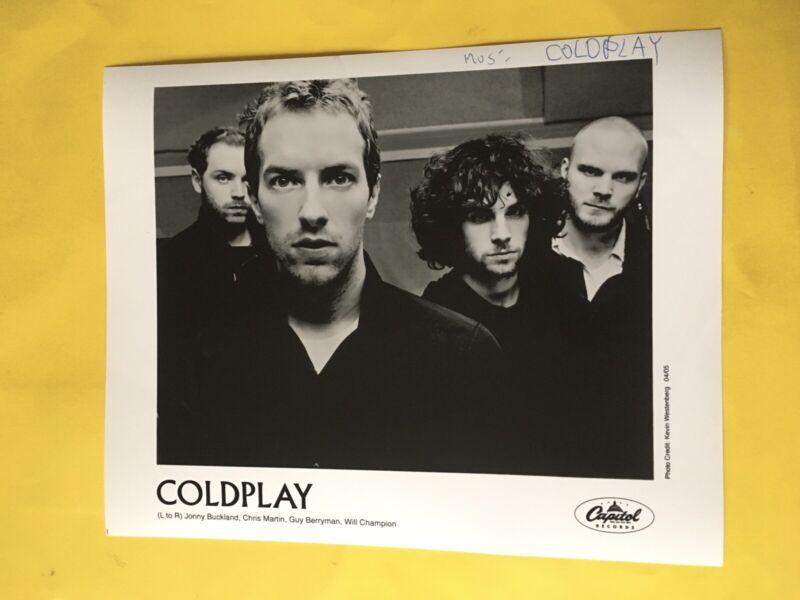 "Coldplay Press Photo 8x10"", Chris Martin."