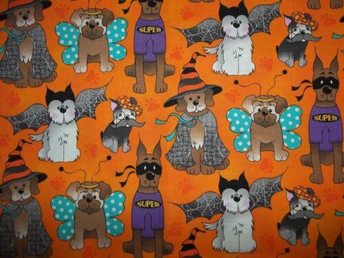Cotton fitted crib sheet Halloween Dogs/Orange,Gray,Purple