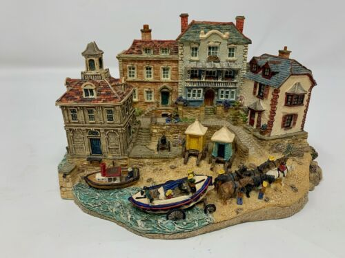 Rescuers Return Danbury Mint RNLI Collection Jane Hart Sculptor Sea Lifeboat - O