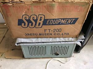 Yaesu FT-200 Transceiver. With 2 power supplies Victor Harbor Victor Harbor Area Preview