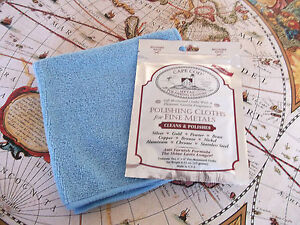 CAPE COD POLISHING CLOTH LARGE MICROFIBRE WATCH CLEANING KIT FOR TAG HEUER WATCH