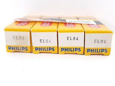 4 X EL84 PHILIPS NOS/NIB TUBES. rX4 V0E CODES, 1960´S, MATCHED QUAD  segunda mano  Casas de Rivero
