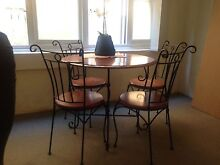 Beautiful iron cast table and chairs Coogee Eastern Suburbs Preview