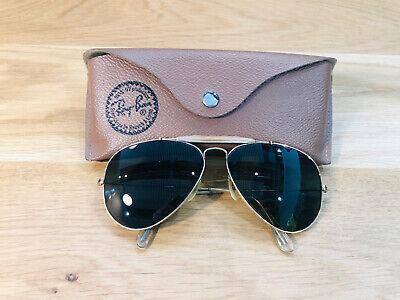 Vintage Ray Ban Outdoorsmen B&L Sunglasses Bausch&Lomb USA Gold G15 VGC 1960s segunda mano  Embacar hacia Mexico