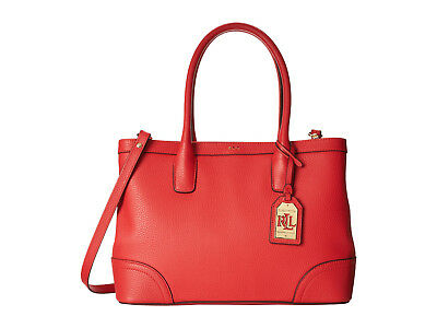 Lauren Ralph Lauren Fairfield City Shopper Poppy Orange *Non Outlet*