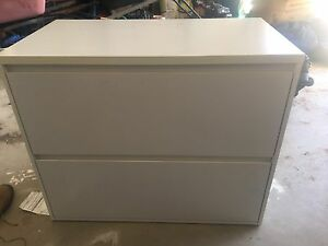 White 2 drawer filing cabinet Kingswood Penrith Area Preview
