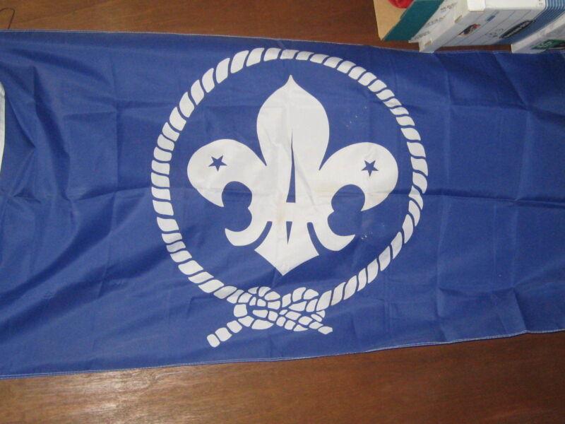 International Scout Emblem Nylon Flag        eb13