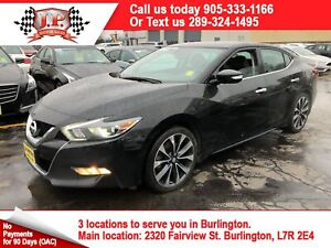 2016 Nissan Maxima SV, Navigation, Leather, Back Up Camera