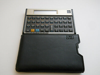 Hewlett Packard HP-12C Business Calculator