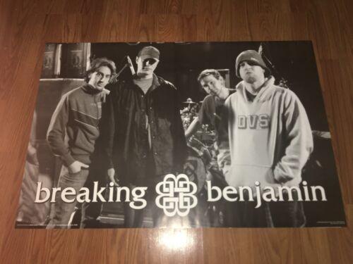 Breaking Benjamin Rock & Roll Band Poster 2005 Original 36x24