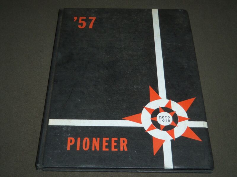 1957 PIONEER NEW JERSEY STATE TEACHERS COLLEGE YEARBOOK - PATTERSON NJ - YB 920