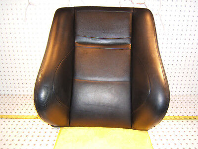 Mercedes W202 C43 AMG 1999 Front L or R Seat LEATHER Black back Genuine 1 Cover for sale  Rocklin